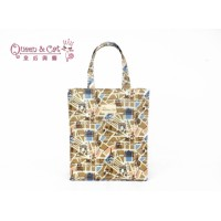 Queen And Cat Waterproof Extra Large Tuition Bag