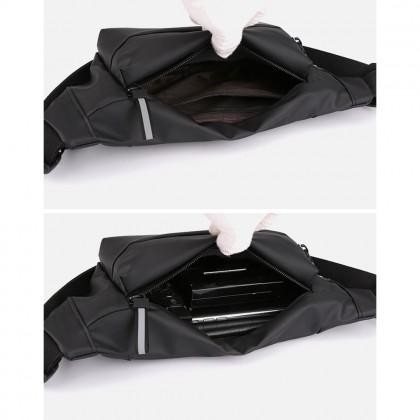 4GL Plain Colour Waist Bag Crossbody Bag Sling Bag Chest Bag Waist Pouch Beg
