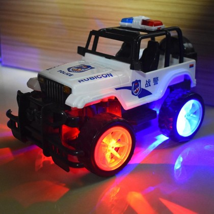 4GL POLICE Off Road RC Car 1:24 Remote Control Car RC Truck Kereta Control Kereta Kontrol Mainan Budak Lelaki