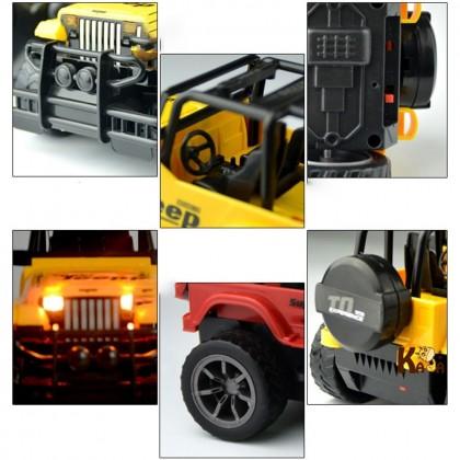 4GL Super Jeep RC Car 1:24 Remote Control Car RC Truck Kereta Control Murah Kereta Kontrol Murah Mainan Budak Lelaki