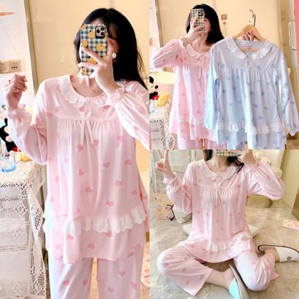 4GL Women LACE PYJAMAS Set Baju Tidur Wanita Baju Tidur Perempuan Baju Tido Women Pyjamas Women Pajamas Women Plus Size