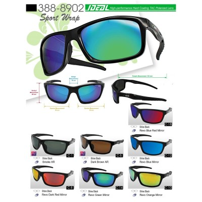 4GL Original IDEAL Jupiter Polarized Sunglasses Sport Driving Casual 8902