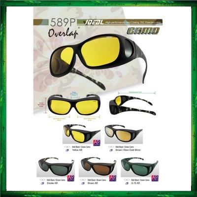 Original Ideal 589p Camo Fit Over Overlap Polarized Sunglasses