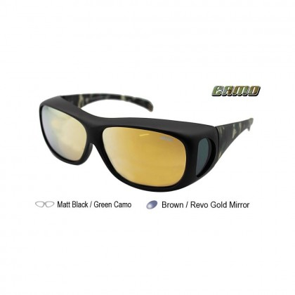4GL Ideal 589P CAMO Polarized Sunglasses Fit Over Overlap