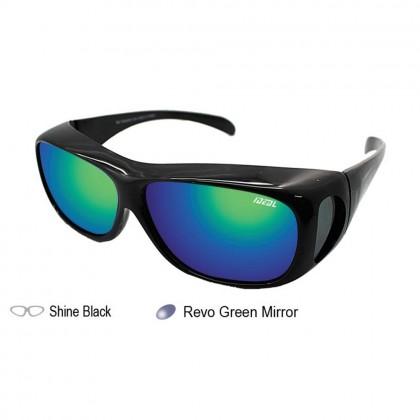 4GL Ideal 589P Polarized Sunglasses Fit Over Overlap Anti UV Glare Cermin Mata