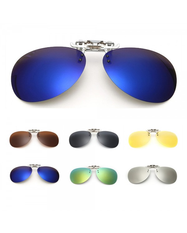 4GL CS03 Aviator Clip On Polarized Sunglasses