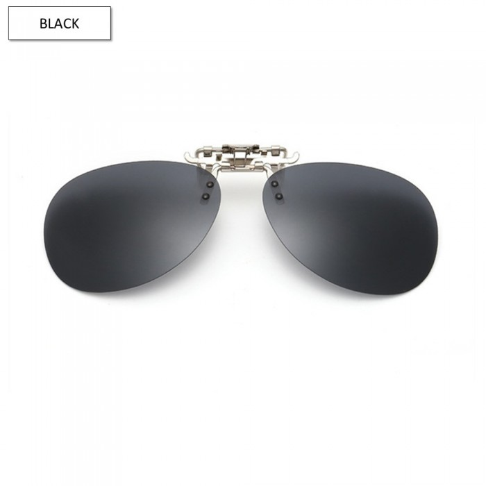 8d3219dd79 CS03 LIGHTZ Anti UV Glare Aviator Clip On Polarized Sunglasses