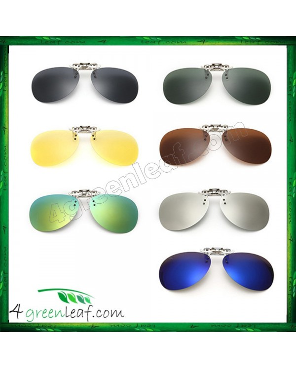 CS03 Aviator Clip On Polarized Sunglasses