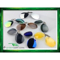 CS03 LIGHTZ Anti UV Glare Aviator Clip On Polarized Sunglasses