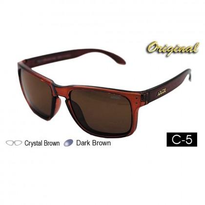 4GL Ideal 8834 Holbrook Polarized Sunglasses (Frame Matte Black)
