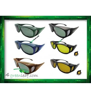 IDEAL 529P FIT OVER OVERLAP POLARIZED SUNGLASSES