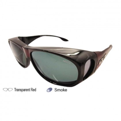 4GL Ideal 529P Polarized Sunglasses Fit Over Overlap