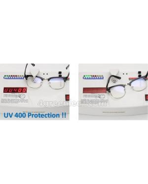 Computer Eye Strain Reduction Anti Blue Light UV 400 Protect Glasses