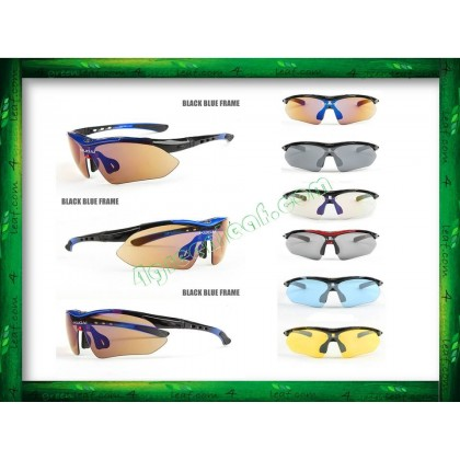 KUGAI COOLCHANGE 6 IN 1 Anti UV Glare Polarized Sunglasses