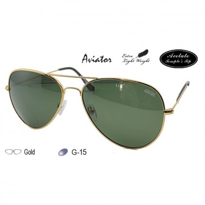 4GL Ideal 621M Polarized Sunglasses Aviator Kaca Mata