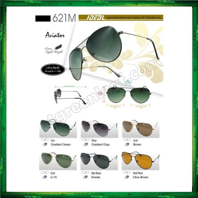 Ideal 621M Aviator Polarized Sunglasses ( Aviator 3026 Inspired)