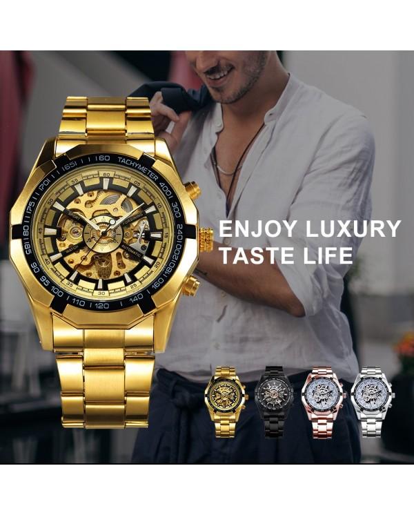 4GL WM01 Original Winner Automatic Mechanical Movement Watch