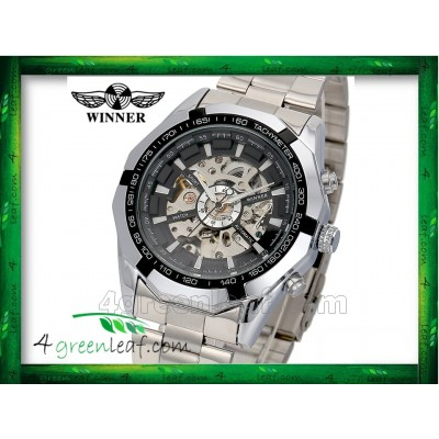 WM01 Original Winner Automatic Mechanical Movement Watch
