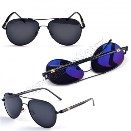 4GL MB209 Polarized Sunglasses Aviator Anti Glare UV 400 Protection