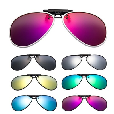 4GL CS05 Twilight TR90 Lightweight Clip On Polarized Sunglasses
