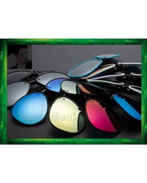 CS05 Twilight TR90 Lightweight Clip On Polarized Sunglasses