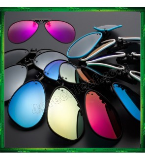CS05 Twilight TR90 Lightweight Clip On Polarized Sunglasses