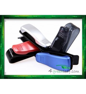 Car Sun Visor Clip Sunglasses Glasses Card Holder