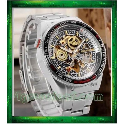 WM03 Original Winner Automatic Mechanical Movement Watch (No Battery)