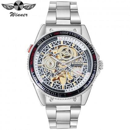 4GL WM03 Original Winner Automatic Mechanical Movement Watch (No Battery)