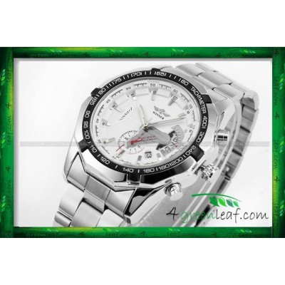 WM05 Original Winner Automatic Mechanical Movement Watch (No Battery)