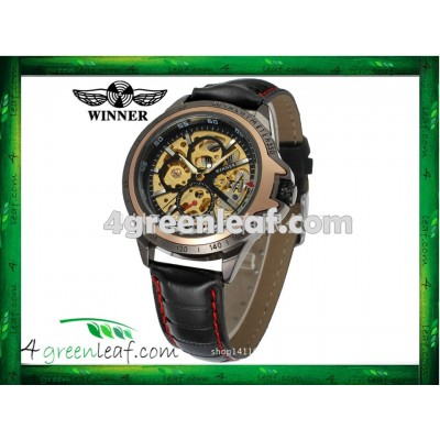 WM06 Original Winner Automatic Mechanical Movement Watch (No Battery)
