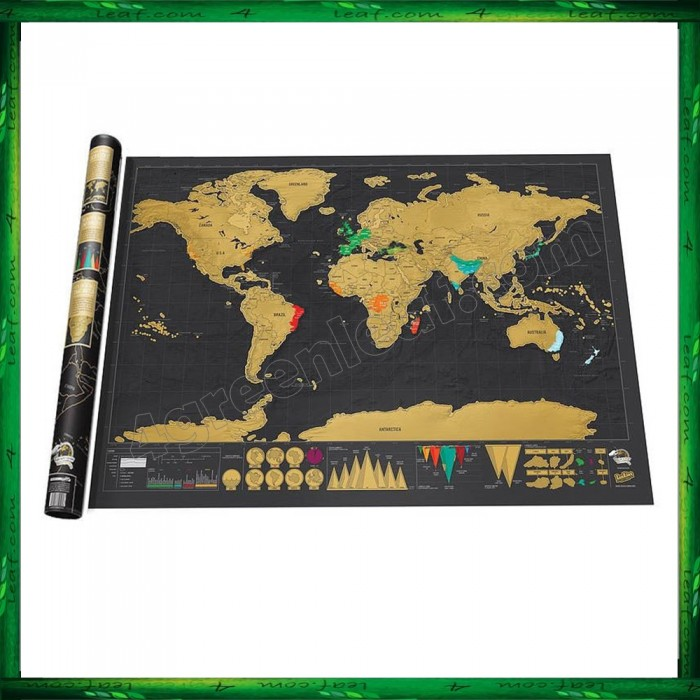 Scratch off large deluxe educational world map travel map wall map scratch off large deluxe educational world map travel map wall map poster gumiabroncs Images