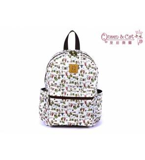 Queen And Cat Waterproof Dream Catcher Backpack