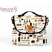 Queen And Cat Waterproof 3 Ways Bag