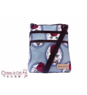 Queen And Cat Waterproof Mini Sling Bag