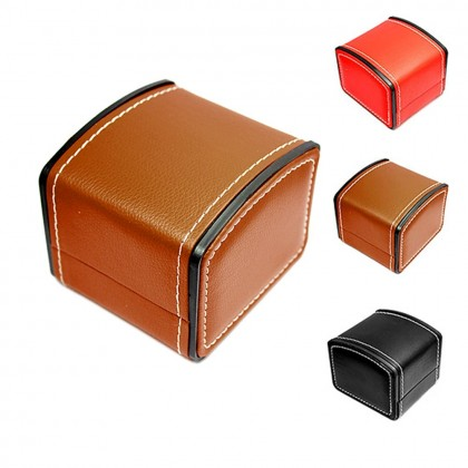 4GL PU Leather Watch Box Storage Case