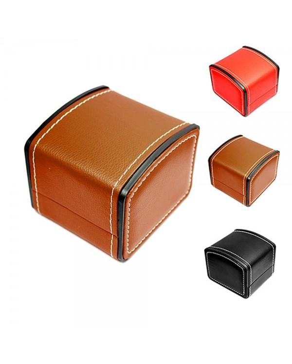 4GL PU Leather Watch Box Storage Case