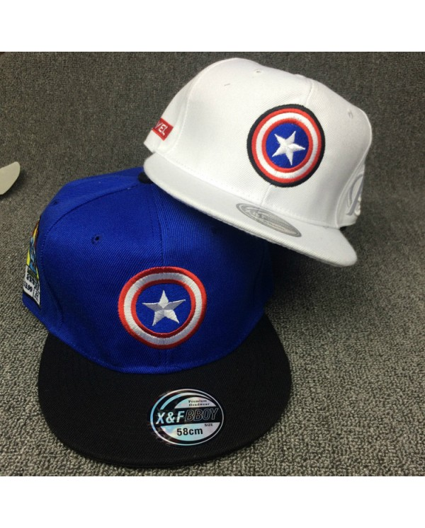 Captain America Snapback Cap Baseball Hat Marvel