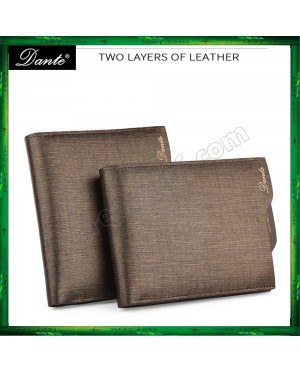 New Arrival Dante Men Premium Genuine Real Leather Wallet