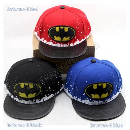 Kids Boys Girls Snapback Hat Cap Superhero