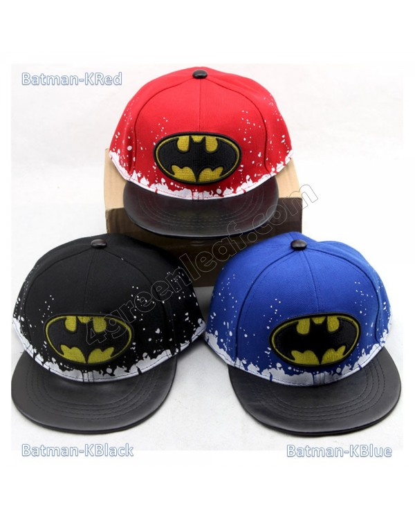 Kids Boys Girls Snapback Hat Cap Superhero