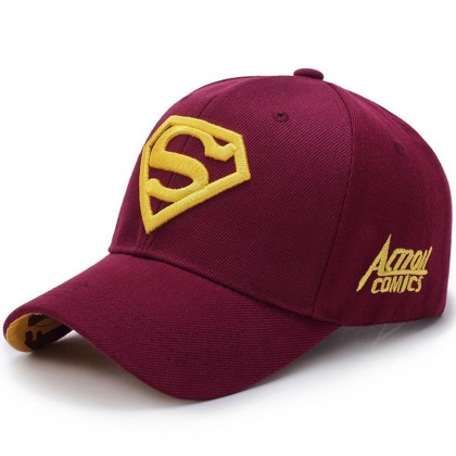 4GL SUPERMAN CAP Men Women Unisex Sport Cap Snapback Hat
