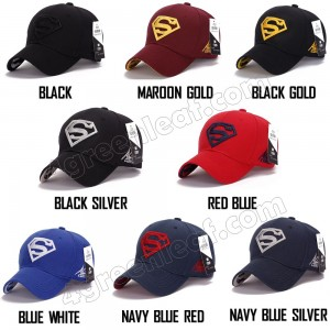 Men Women Unisex Sport Golf Baseball Cap Snapback Hat Superhero Outdoor