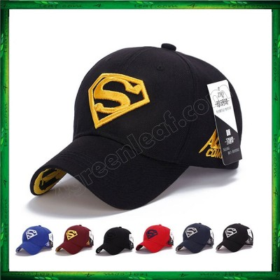 Men Women Unisex Sport Cap Snapback Hat Superman