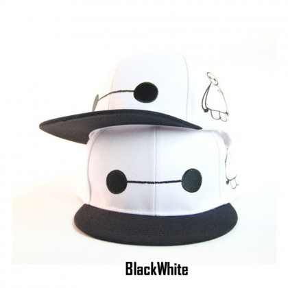 Adult SnapBack Hat Cap Various Design Big Hero Baymax