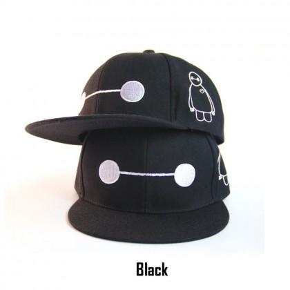 Adult SnapBack Hat Cap Various Design Big Hero Baymax