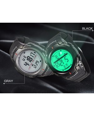 New Fashion Men Sport Watches SYNOKE Brand LED Electronic Digital Watch Waterproof Outdoor Dress Wristwatches Military Watch