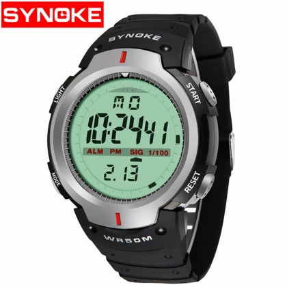 4GL Synoke 61576 Fashion Men Sport Watches LED Digital Watch Jam Tangan