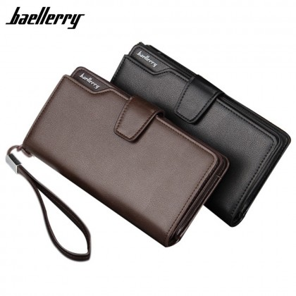 4GL Baellerry S119B Handphone Women Men Wallet Long Purse Dompet