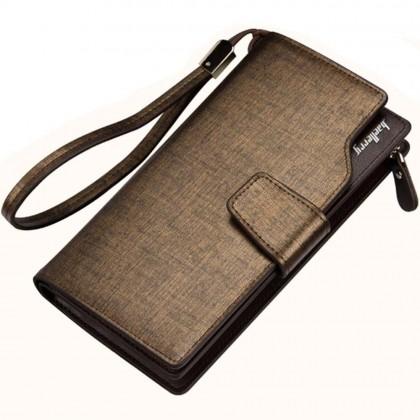 4GL Baellerry 171/S119B Long Wallet Men Women Coin Purse Card Holder Dompet Beg